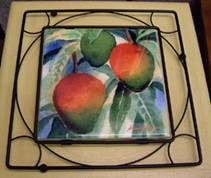 Tile Trivets with Frame